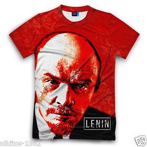 Lenin face t shirt 3d new cool russian prints of comrade sizes xs a imagem est carregando lenin face t shirt 3d new cool russian fandeluxe Image collections