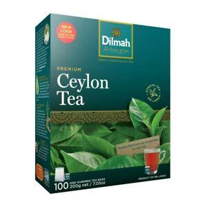 Dilmah Pure Ceylon Premium Tea Bags 100 pack 200 gram
