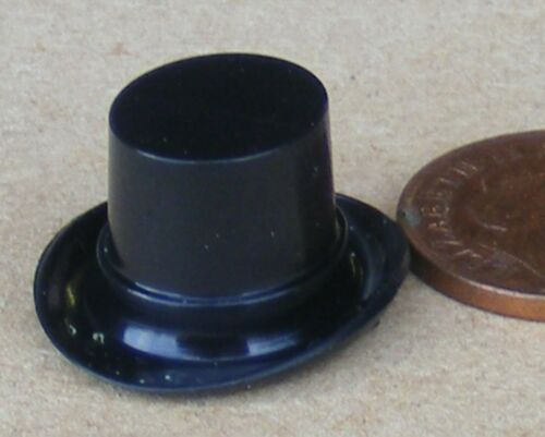 interna tumdee Casa De Muñecas S 1.2cm Plástico Top Hat 2cm X 2.3cm X 1.2cm alto