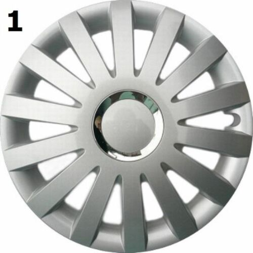 """SET OF 4 15/"""" WHEEL TRIMS TO FIT FORD CONNECT FREE GIFT #1"""