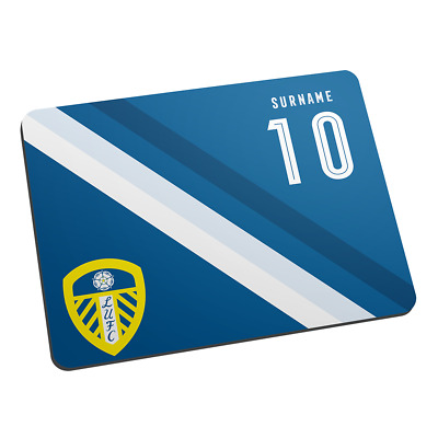 STRIPE Personalised Mouse Mat Leeds United F.C