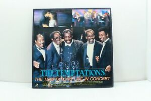 Temptations-Live-in-Concert-Laserdisc-LD-BML-6-Japan-Import