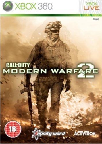 Call Of  Duty Modern Warfare 2 Xbox 360 Backward Compatible SAME DAY POST FREE