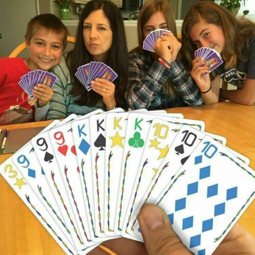 Family Party Card Games Family Gathering Party Five Crowns  Card Game