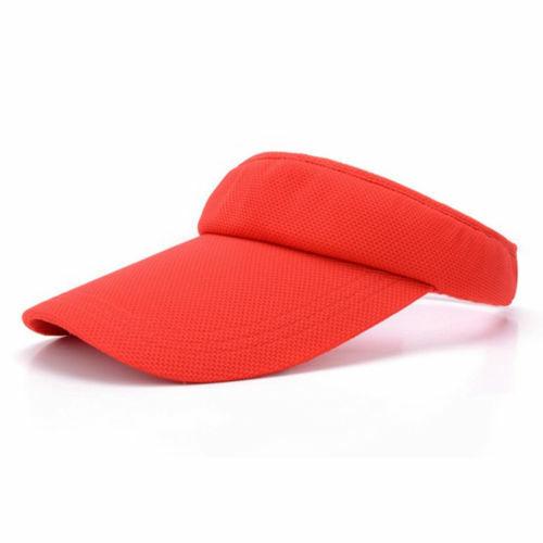 Damen Basecap Sonnenhut Sunvisor Mütze Hüte Stirnband Sonnenschutz Schirmmütze