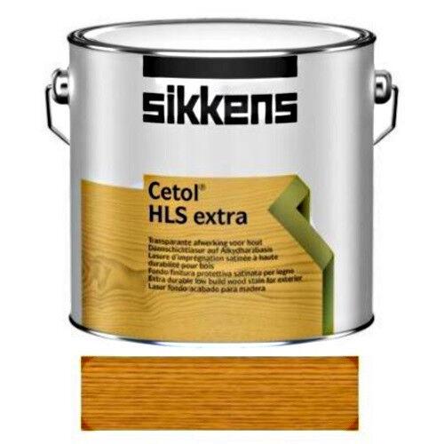 SIKKENS Cetol Holzschutz Holzschutz Holzschutz Extra Wetterschutz-Farbe UV-Schutz 006 eiche hell 2,5 L ad23da