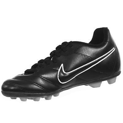 Nike JR TIEMPO RIO II FG-R Green Strike Black 631286-330 Kid Soccer Youth Cleats