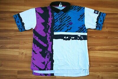 VINTAGE Nike Challenge Court Andre Agassi Tennis Polo Shirt Taille Homme Medium | eBay