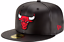 New-Era-5950-CHICAGO-BULLS-Faux-Leather-Black-Red-Cap-NBA-Baseball-Fitted-Hat miniatura 1