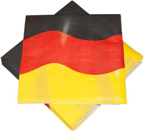 Partysets Partyset Deutschland Germany Fußball EM WM Geburtstag Party Deko