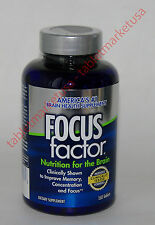 Focusfactor Focus Factor Brain Mind Health Supplement 150 Vitamins For Memory