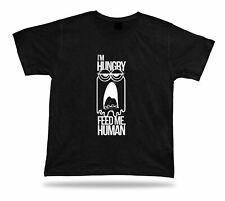 I/'m hungry feed me human Cute cool idea modern t shirt tee birthday present