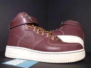 best website 24f9b e173a Image is loading 2010-Nike-Air-Force-1-High-Premium-LE-
