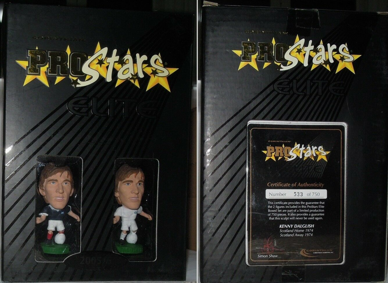 Korinthische box prostars elite kenny dalglish num 533 750