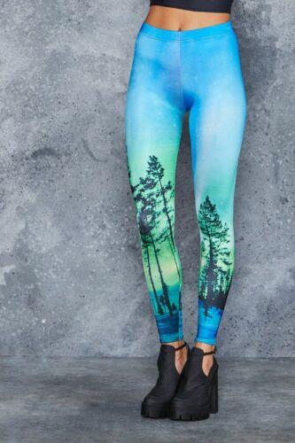 Rare BlackMilk AURORA SKYE LEGGINGS - LIMITED EDIT
