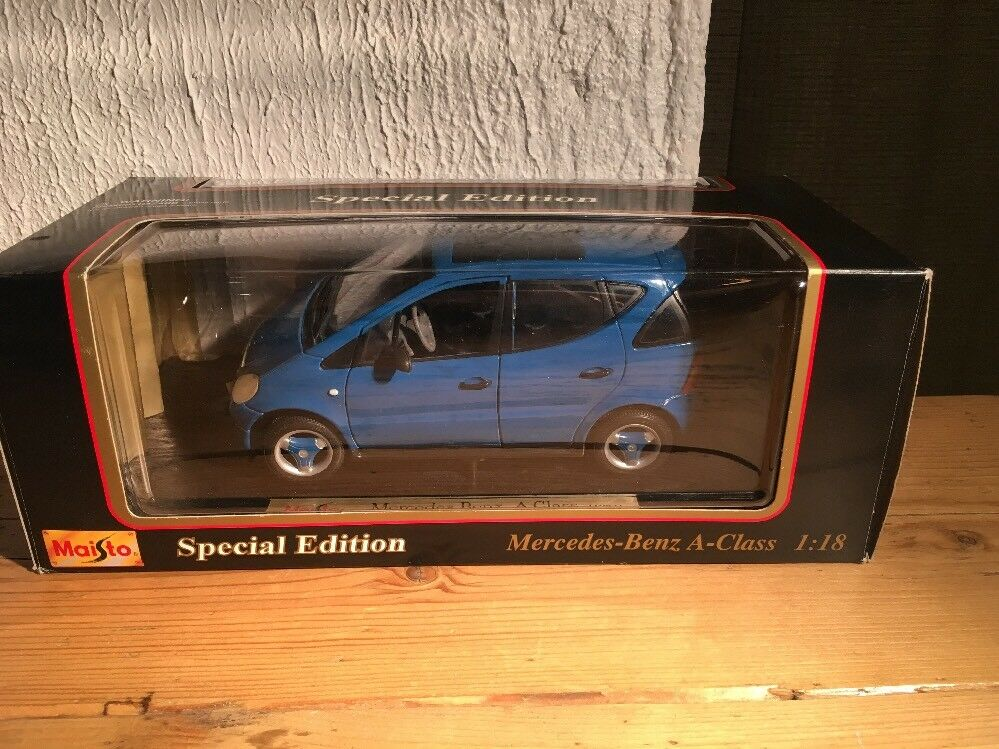 Maisto Mercedes-Benz A-Class 1 18 Die Cast 31841 New Boxed