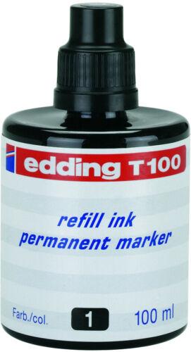 schwarz Permanentmarker für edding® Nachfülltusche Schreibfarbe