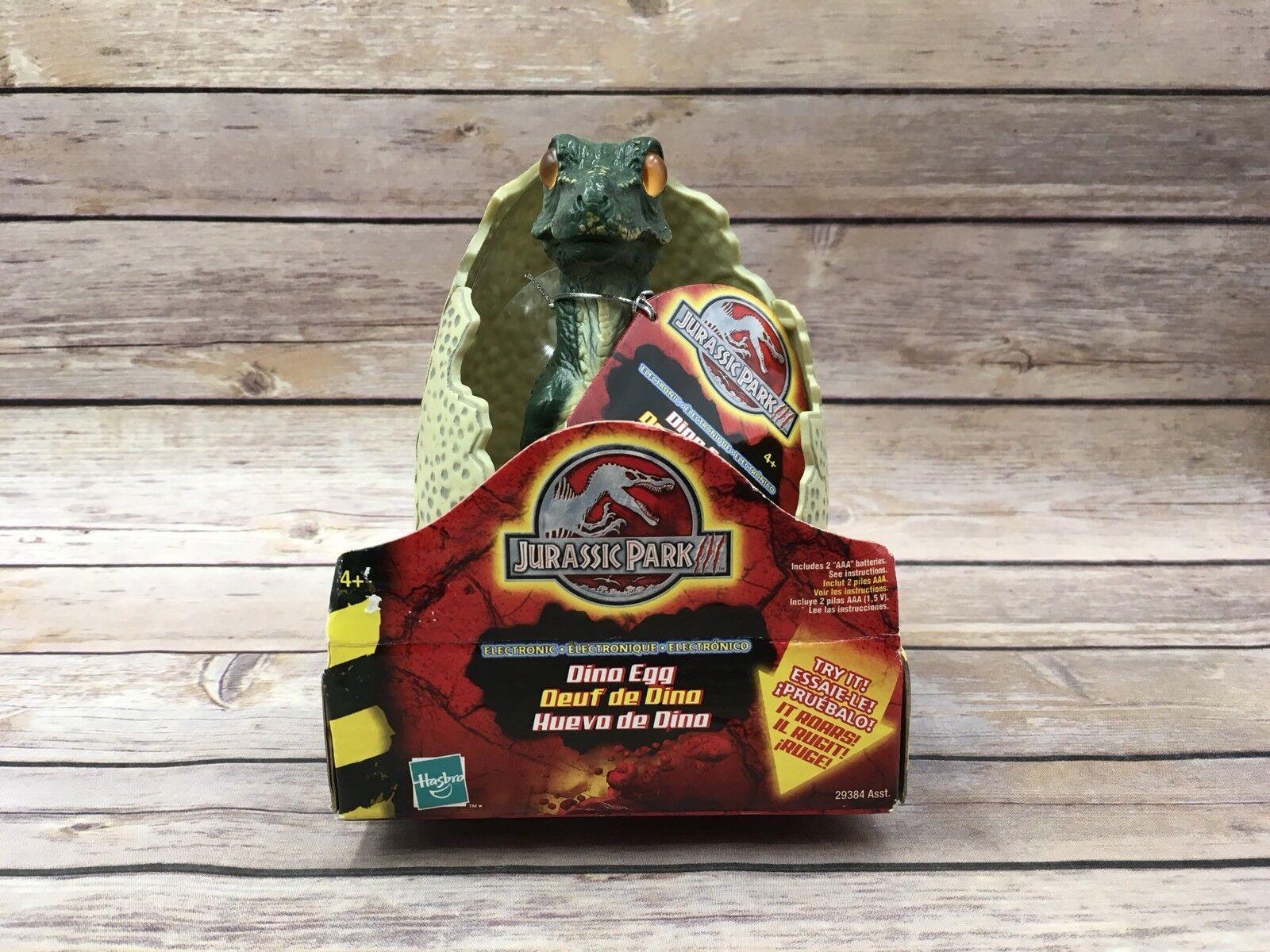 New Hasbro 2000 Jurassic Park III T-Rex Electronic Dino Egg  29387