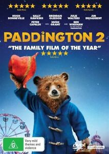 PADDINGTON-2-DVD-2018-BRAND-NEW-HUGH-BONNEVILLE-SALLY-HAWKING-BRENDAN
