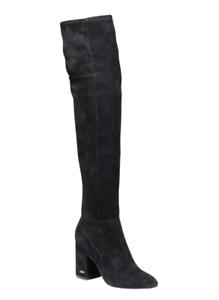 Cole Haan Darla Women's Black Suede Over Knee Boot Sz 7 2676 *