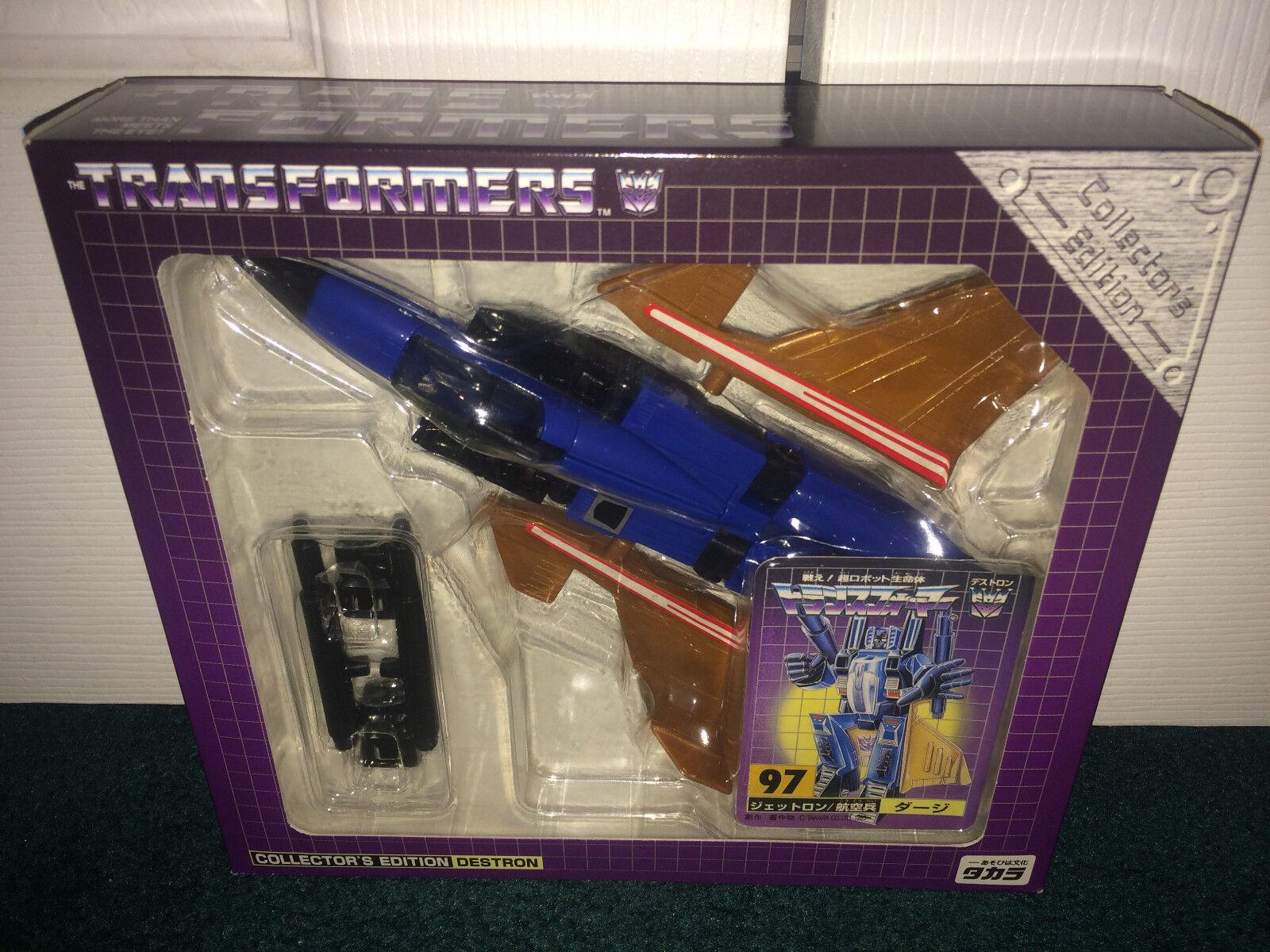 Significa D97 G1 riemettere Giappone convenzione esclusivo Transformers Takara 2001 Nuovo di zecca IN CONFEZIONE SIGILLATA
