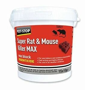 Strict Pest-stop Super Rat Souris Tueur Max Peut Utiliser Dans Tous Les Temps Gros Blocs-afficher Le Titre D'origine