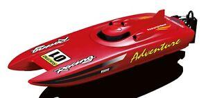 Amewi-RC-Rennboot-Adventure-Rot-2-4-GHz-30km-h-Katamaran-260740
