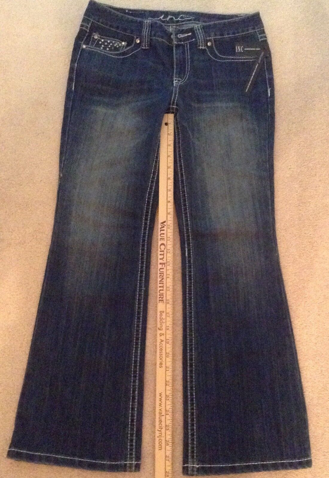 NWT I.N.C. womens size 6 short boot cut