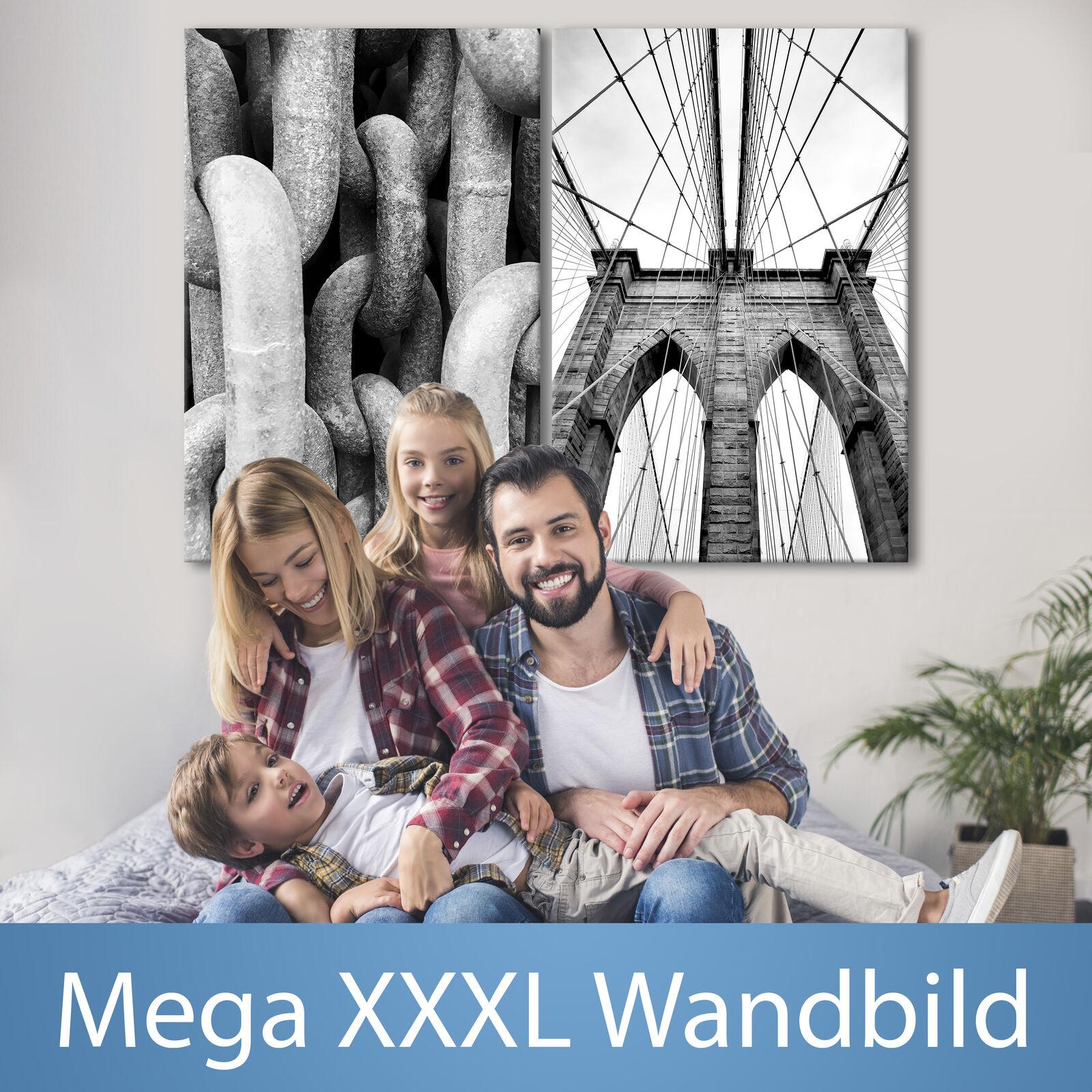 XXXL la fresque 120x90 géant format TOILE NOIR BLANC CANVAS n-b-0045-ak-z