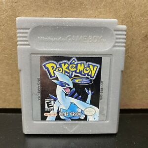 Pokemon-Silver-Version-Nintendo-Gameboy-Tested-amp-Working-Authentic-SAVES