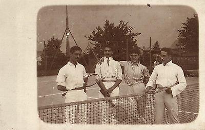 16182/ Originalfoto 9x13, Spieler Tennisverein Milano, 1907