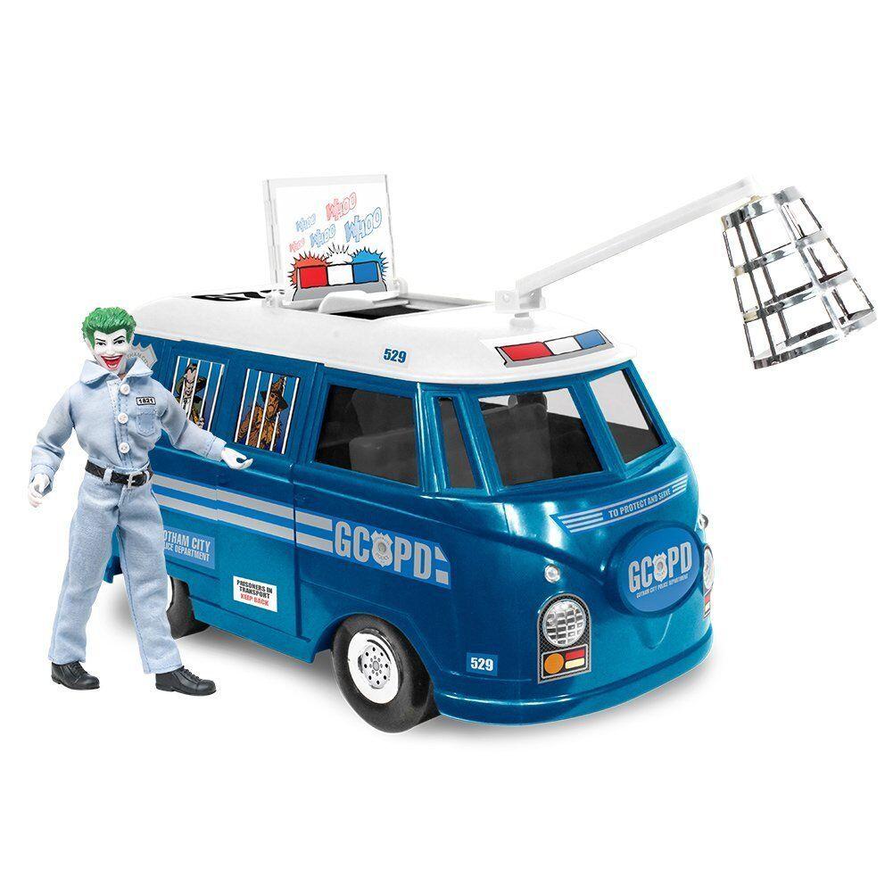 Offizielle dc comics bus gcpd playset mit exklusiven joker zahl der ftc