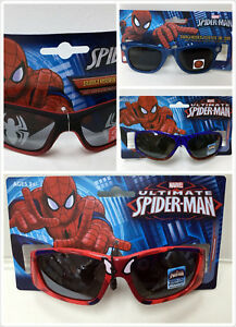 529199b276 Image is loading Marvel-Ultimate-Spiderman-Sunglasses-Red-Web-100-UVA-