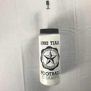 Howard-Payne-Water-Bottle-VTG-1992-Football-Champs-Mug-TIAA-Brownwood-Texas-90s