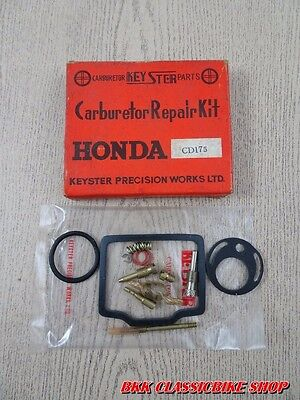 TW85 HONDA CB400F CB400 F CARBURETOR CARB REPAIR KIT X 4 SETS