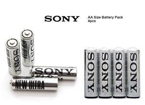 Batterie Pile SONY Europa stilo AA R6 1.5V 4 pz Carbon Zinc