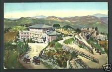 Portofino Kulm ( Genova ) - cartolina viaggiata nel 1921 per l'Inghilterra