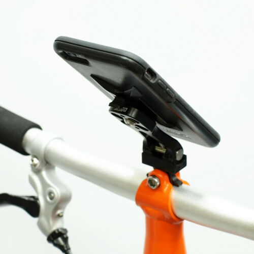 For BROMPTON Phone Mount Smartphone Metal Holder FITS ANY PHONE