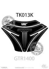KAWASAKI GTR1400 Tank Pad BLACK / SILVER (TK013K)