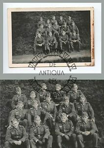 III-Reich-WW2-WK2-XX-IIWW-MILITARIA-TEDESCA-PHOTO-FOTO-WH-HEER-LW-LAGER