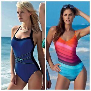 Das Bild wird geladen Sunflair-Damen-Badeanzug-Einteiler-LYCRA-XTRA-LIFE-Gr- 0683d4d014