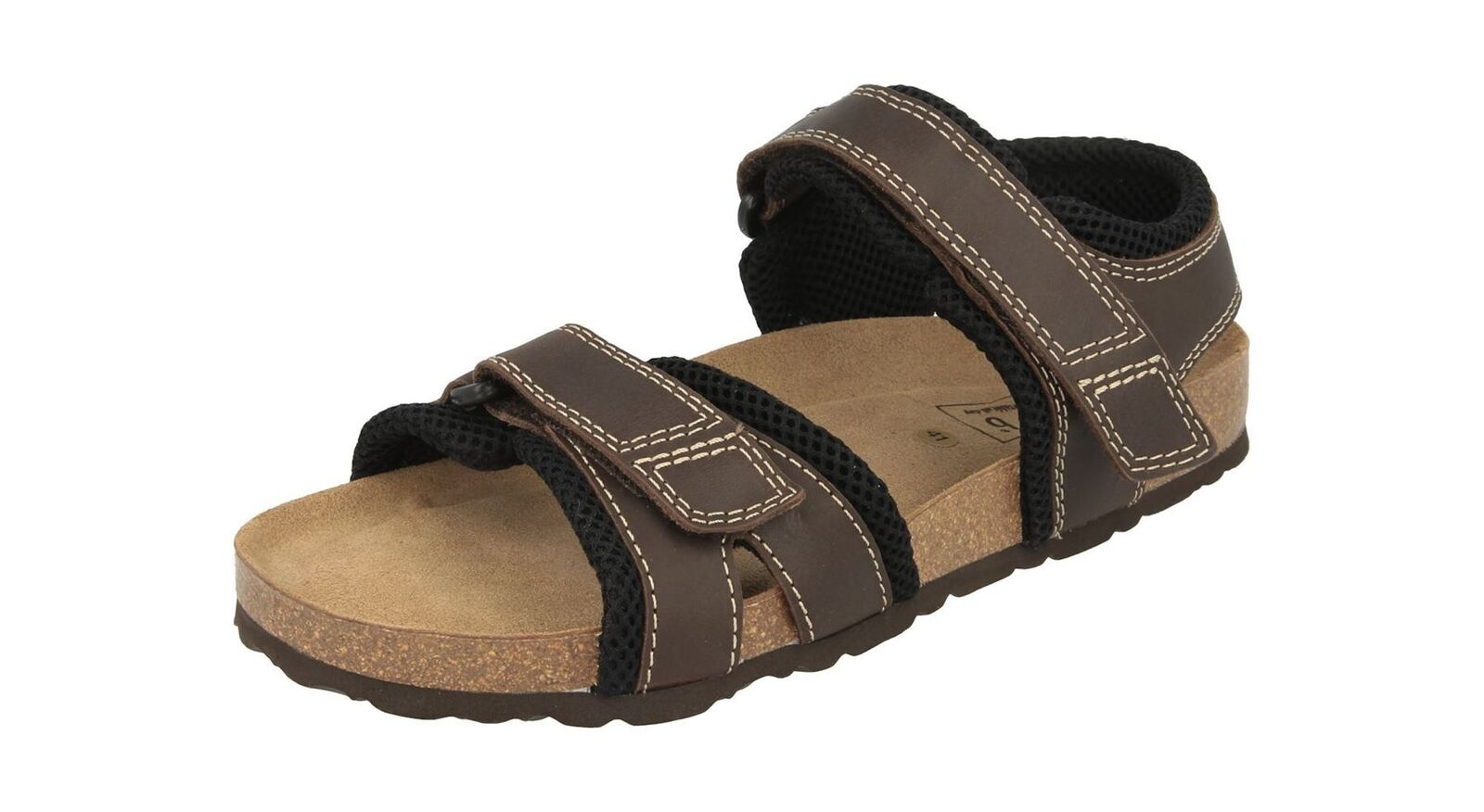 DB shoes Extra Wide and Extra Deep Easy to wear Sandals in Brown