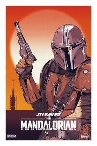 "11""x 17"" Movie Collector/'s Poster Print DISNEY STAR WARS The Mandalorian"