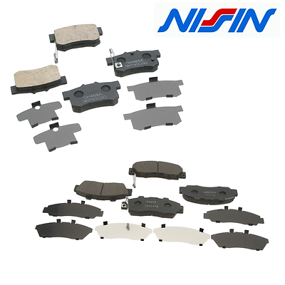 Front /& Rear Ceramic Brake Pads Acura CL Integra TL Vigor Honda Accord Prelude
