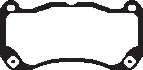 EBC Yellowstuff Sportbremsbeläge Vorderachse DP43013R für Ford Mustang 5 USA