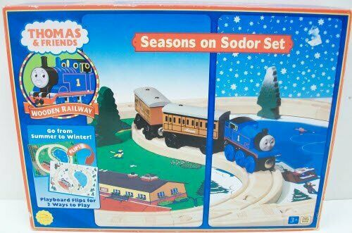Thomas The Tank Engine Seasons on Sodor Set 99548 NIB Learning Curve