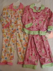 St Eve Toddler Girls Flannel Warm Pajama Shirt Pant Sleepwear Set Choice 2t Nwt To Enjoy High Reputation At Home And Abroad Girls' Clothing (newborn-5t)