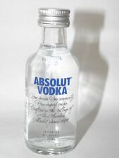 Absolut Vodka Blau 40% 50ml mini flaschen bottle miniature bottela Neue Version
