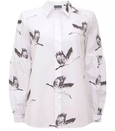 Size Polli 10 Velvet Shirt Brand New Back Print Tie Mint wYBPnOqTO