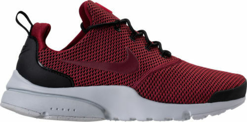 NIKE Air Presto Fly SE Men's Shoes Black Team Red 908020-003 Price reduction Comfortable and good-looking